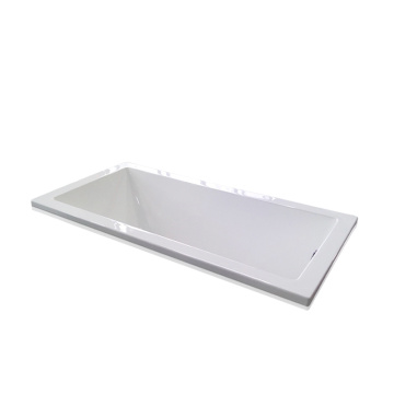Canada Style Big Drop-in Bathtub in White