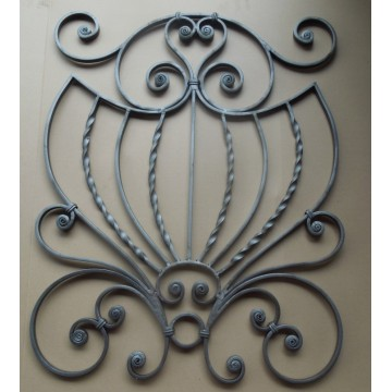 Best-Selling for Hand Forged Steel Balusters, newel posts, rosettes, gate handles, gate lock plate, balls, basket, grapes etc. Forged Ornamental Wrought Iron Parts export to Togo Factory