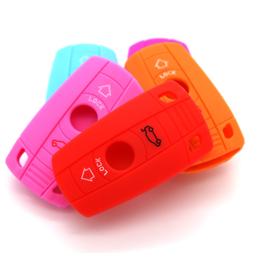 Hot sale silicone car key cover for BMW