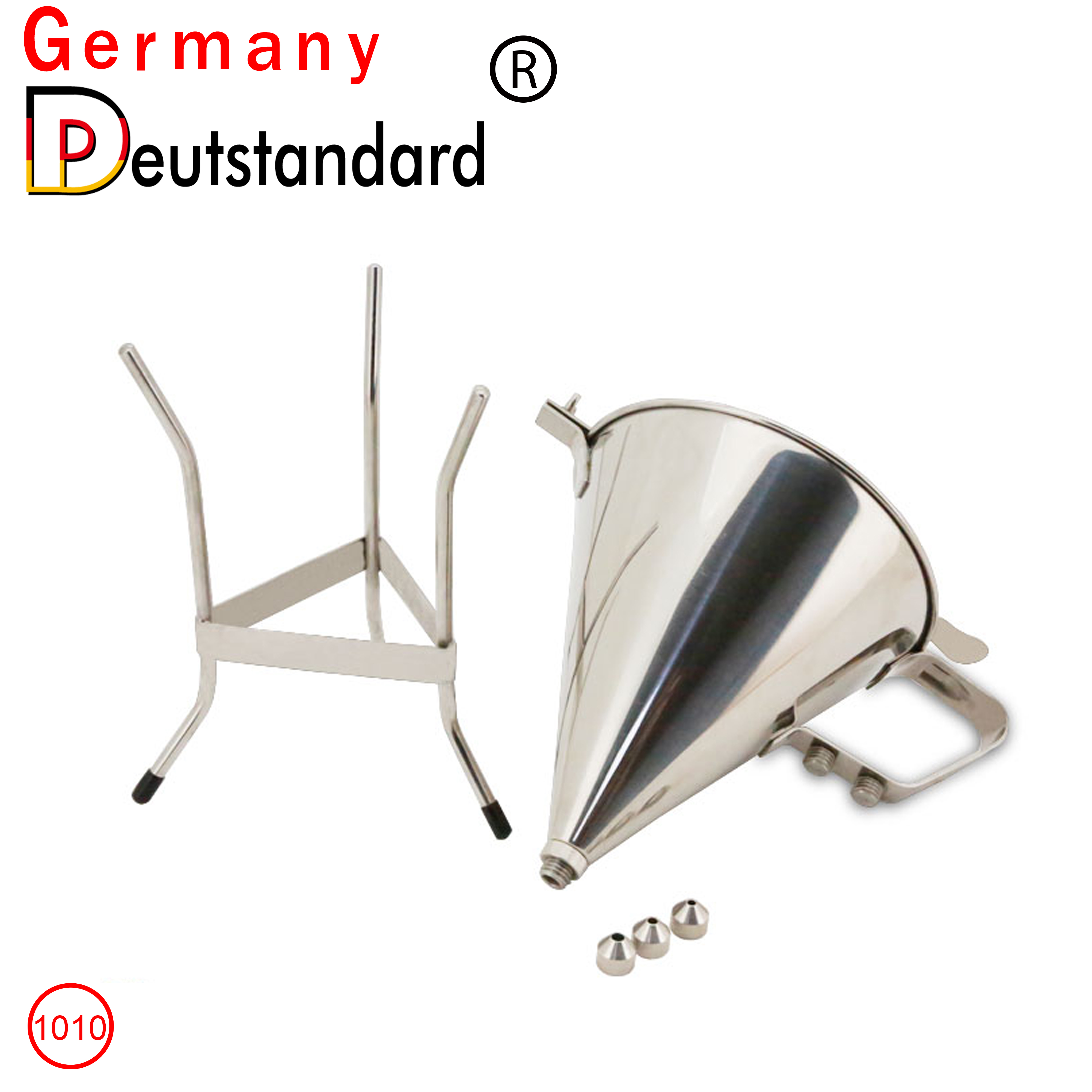 stainless funnel