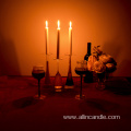 Dinner Decorative Romantic White Candle
