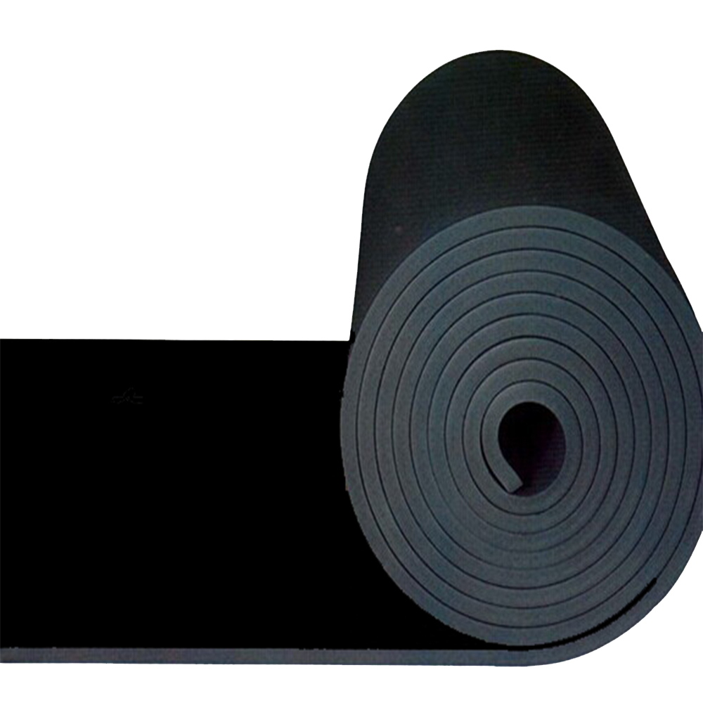 heat insulation material EPDM CR NBR rubber foam sheet