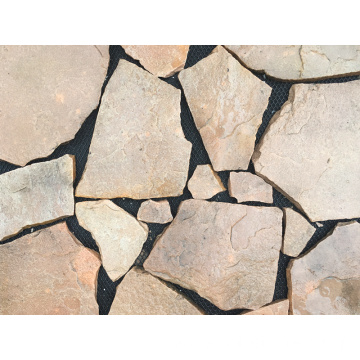 Pink Sandstone Paving Stone Flooring and Wall Tile