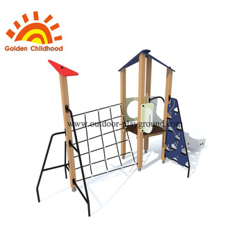 HPL Navy Outdoor Playground Equipment For Children