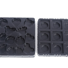 Vacuum forming plastic blister packaging display tray