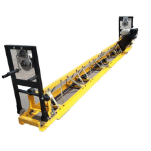 Road Concrete surface leveling frame truss screed machine