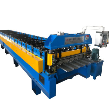 Ibr metal sheet roof panel roll forming machine