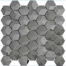 sexangle stainless steel mosaic