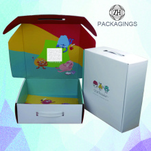 Double side printing custom shipping box