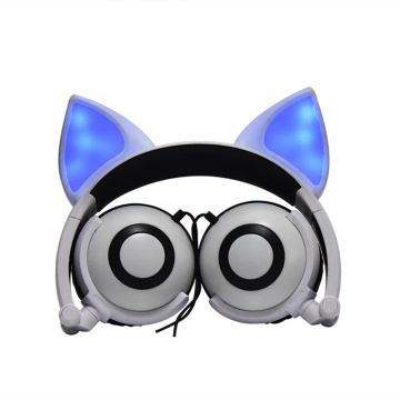 2018 new design most popular fox ear headphones