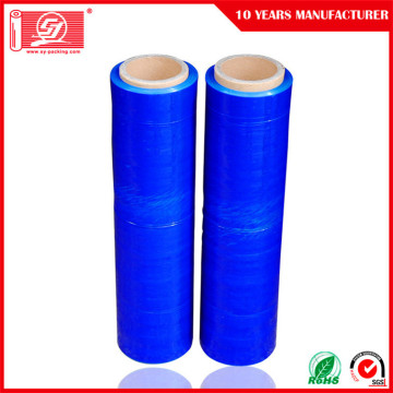 LLDPE blue stretch film for wrap film