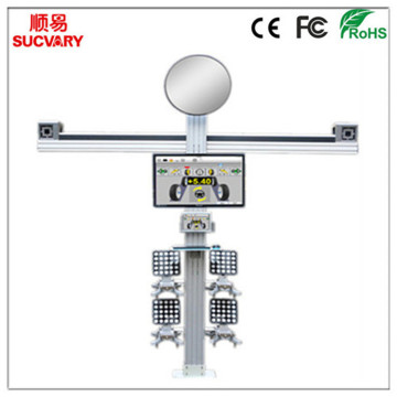 Tracking 3D Wheel Alignment System