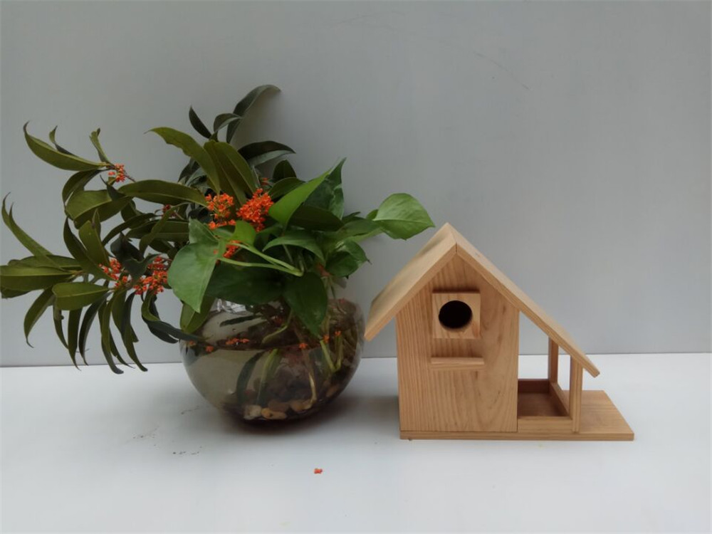high quality creative wooden bird house
