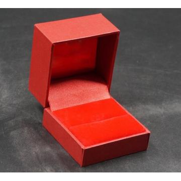 Wholesale red leather jewelry ring box