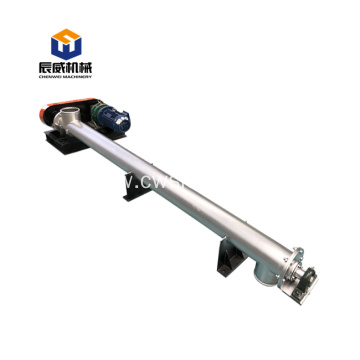 food grade ss 304 salt screw auger conveyor