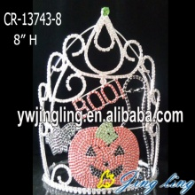 Custom Pumpkin Halloween Pageant Crown