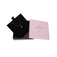 Good Quality for Necklace Packaging Wholesale Embossed Custom Necklace Package Paper Box export to Russian Federation Supplier