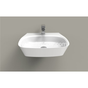 Wall hung pure acrylic PMMA washbasin