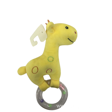 Yellow Deer Rattle Baby Toy