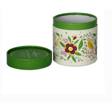 Custom Set Up Round Paper Box with Lid