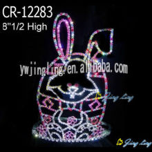 High Quality for Easter Pumpkin | Butterfly Shaped Crowns, Rabbit Egg Tiara Crown - China Seller. Pageant Crown Rabbit Shape export to Finland Factory
