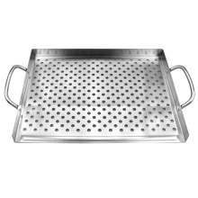 China Factories for Stainless Steel Grill Basket Grill Accessories Heavy Duty BBQ Basket supply to India Factory