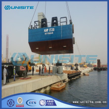 Professional Design for Square Floating Platform Steel marine floating platforms export to Azerbaijan Manufacturer