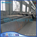 Saw weld small size steel pipes