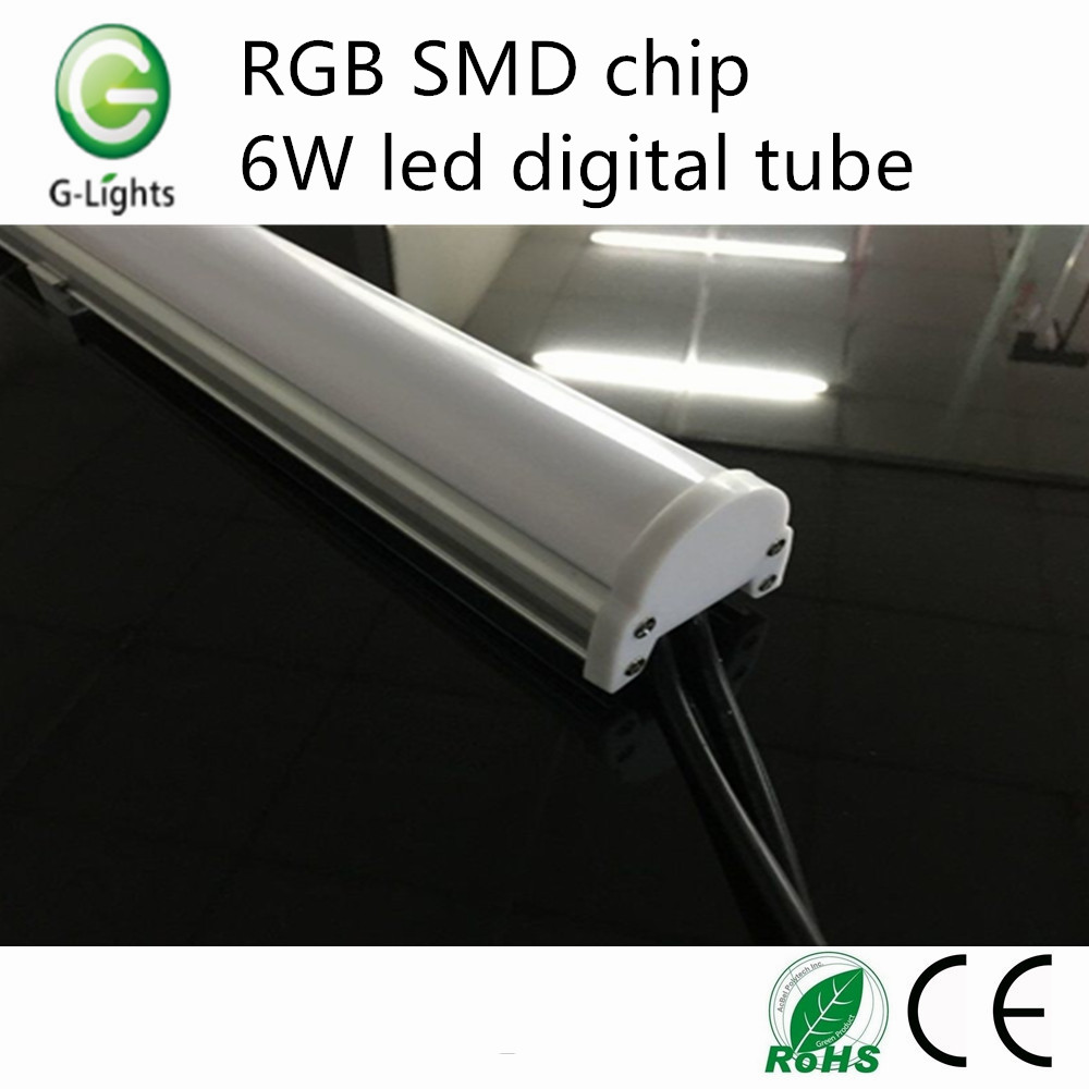 RGB SMD chip 6W led digital tube