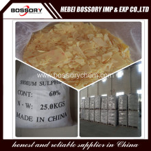 Sodium Sulfide Yellow/ Red Flakes