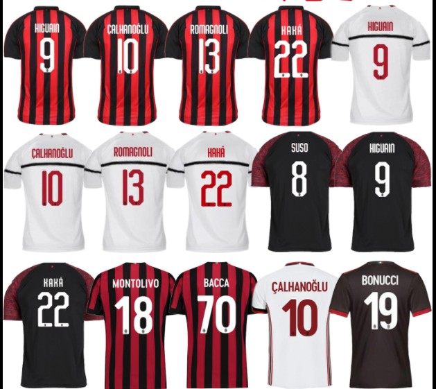 AC Milan Thai version  Soccer Jersey World Cup