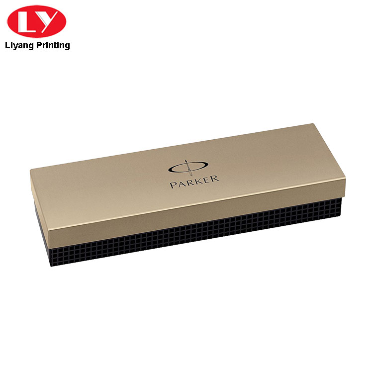 Pen Box Gold Color