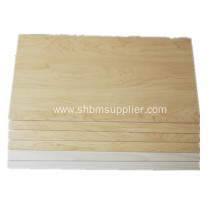 No-Formaldehyde Anti-Moth Fireproof 10mm MgO Veneering Board