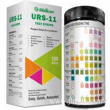 11 Para Urine Test Strips For Analyzer