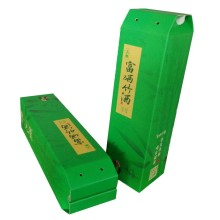 Discount Price Pet Film for Wine Package Gift Box The Bamboo Wine Gift Boxes export to Poland Supplier