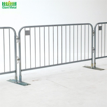 Temporary Galvanized Road Safety Crowd Barrier Fence