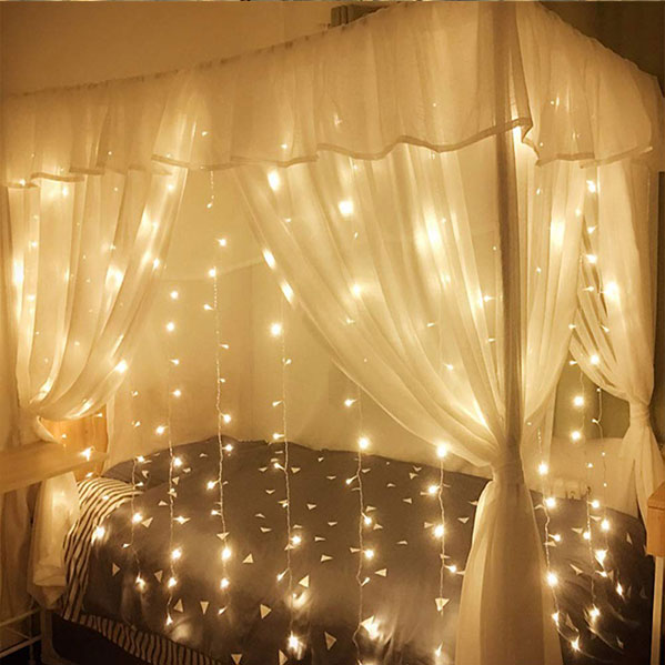 led waterproof curtain light