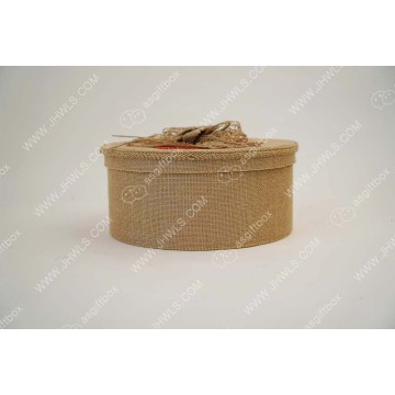 Wholesale Flower Gift Box of Crude Linen