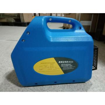 Refrigerant gas recycling machine