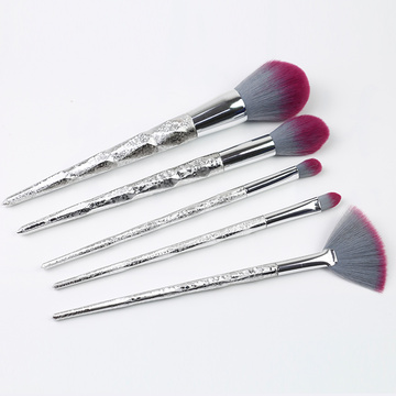 5 Copa të Shiny Plastic Handleand Kit Brush Makeup