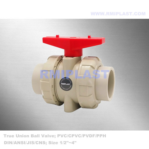 PPH Ball Valve Union Socket Fusion