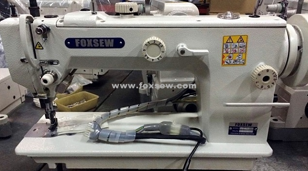 Long Arm Top and Bottom Feed Feed Heavy Duty Lockstitch Sewing Machine