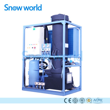 Snow world 3T Tube Ice Machine For Fish