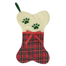 Christmas pet stocking with scottish style