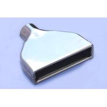 Customized for Steel Tail Pipes Performance Rectangular Outlet Exhaust Tip supply to Nauru Wholesale