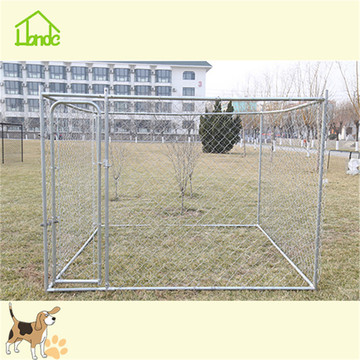 Wholesale large metal silver dog kennel