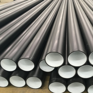 Anti abrasive HDPE pipe