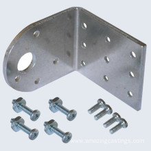 Short Lead Time for for Stamped Steel Parts Precision Metal Stamping Angle Bracket export to Rwanda Manufacturer