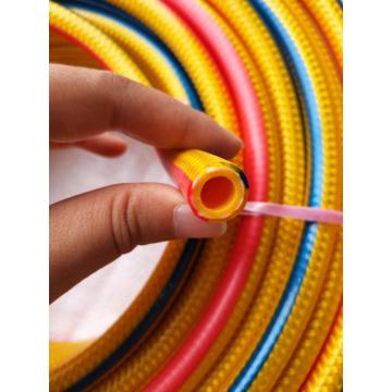 Multicolor and power braided high pressure spray hose