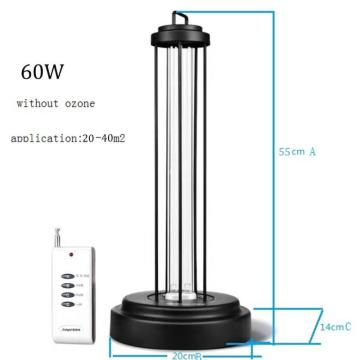 UVC germicidal lamp portable uv sterilizer for room